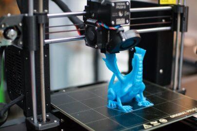 3D tisk, ukázka výroby