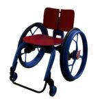 invalidní vozík 3D model