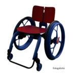 Lidský vozík 3D model
