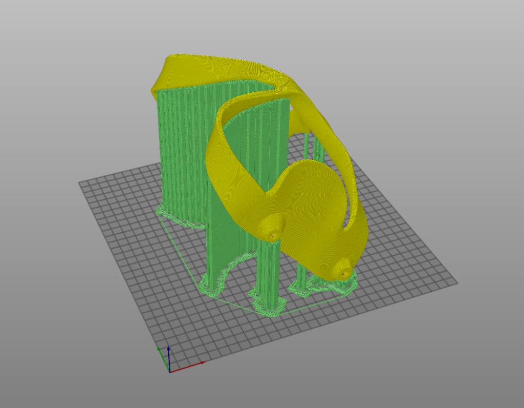 3D print, dog wheelchair component